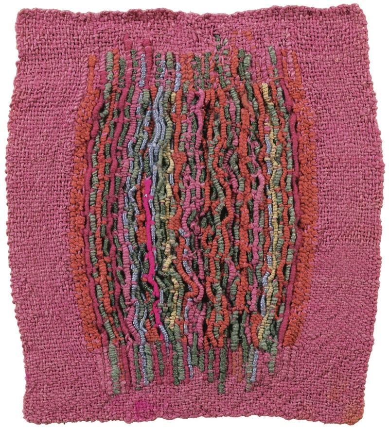 Sheila Hicks, Squiggle, 1962-63.