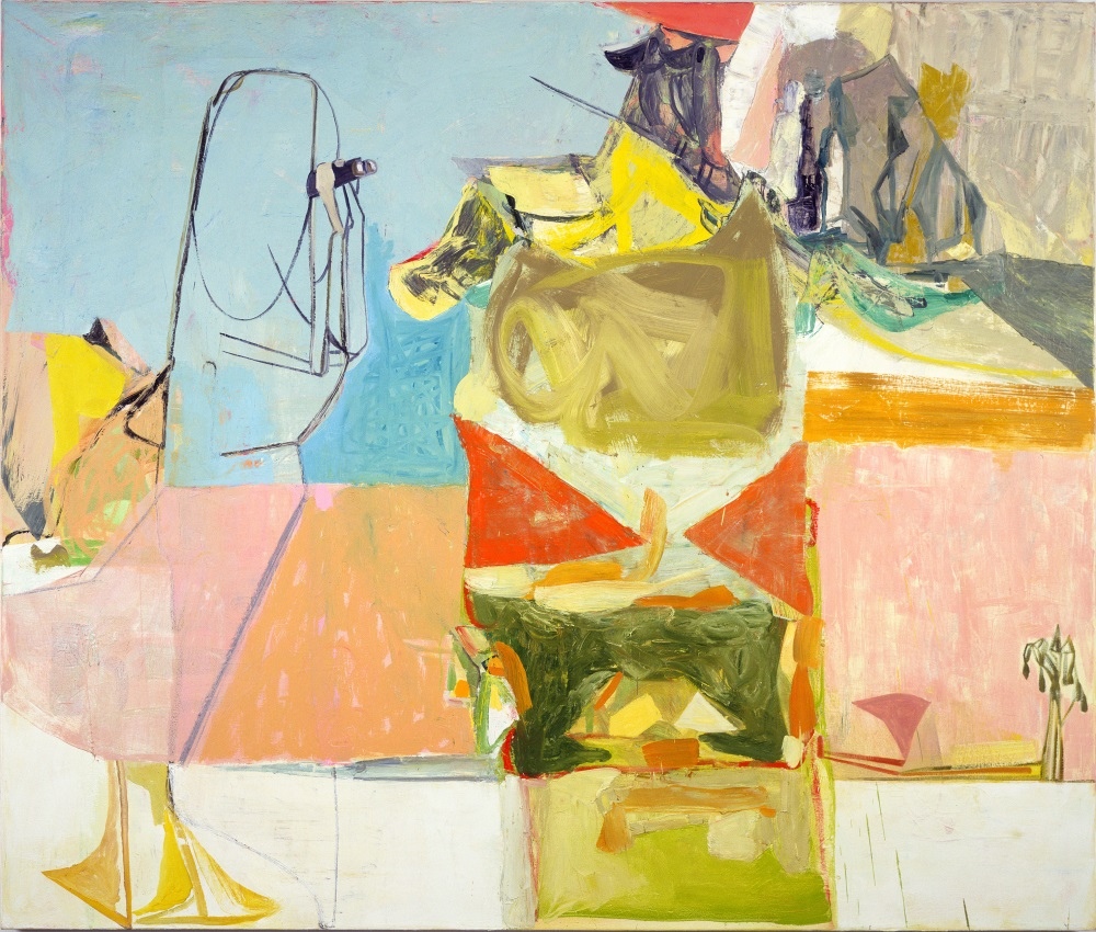 Amy Sillman, Birdwatcher, 2004. Collection of the Museum of Fine Arts, Boston.
