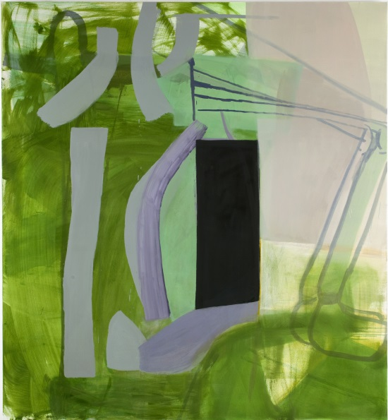 Amy Sillman, Black Doorway, 2011.