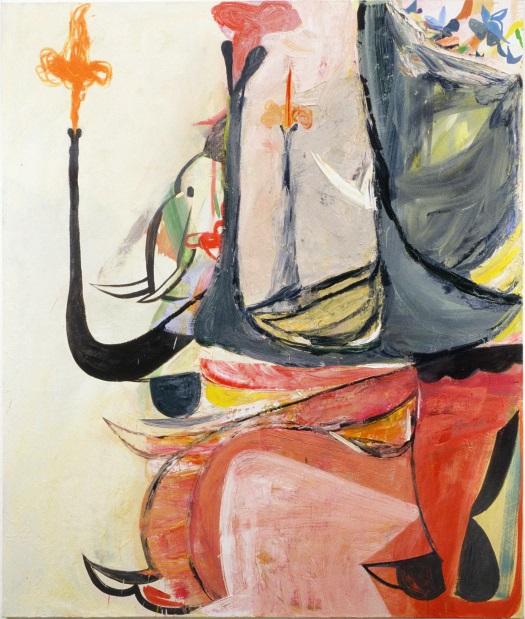 Amy Sillman, Elephant, 2005.