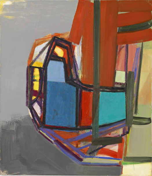 Amy Sillman, L, 2007. Collection of the Harvard Art Museums.
