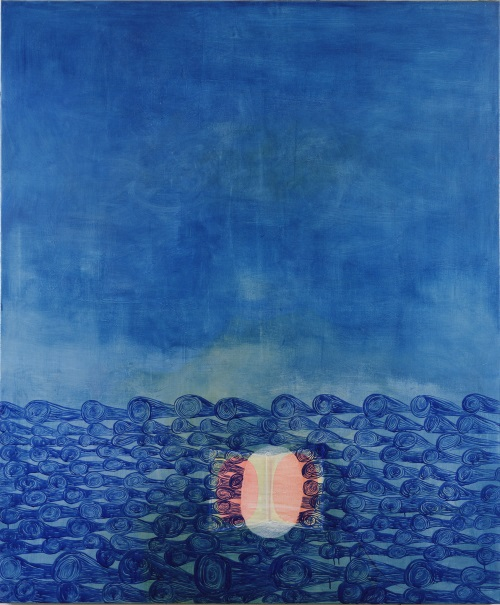Amy Sillman, Ocean, 1997.