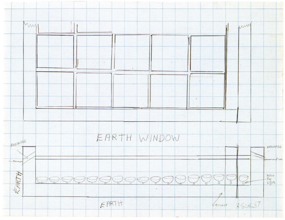 Robert Smithson, Earth Window, 1967.