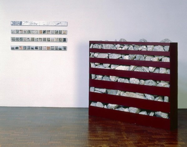 Robert Smithson, Non-site: Line of Wreckage (Bayonne, New Jersey), 1968. Collection of the Milwaukee Art Museum.