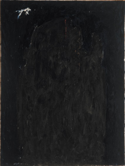 Clyfford Still, 1941-42-C, 1942. Collection of the Albright-Knox Art Gallery, Buffalo.