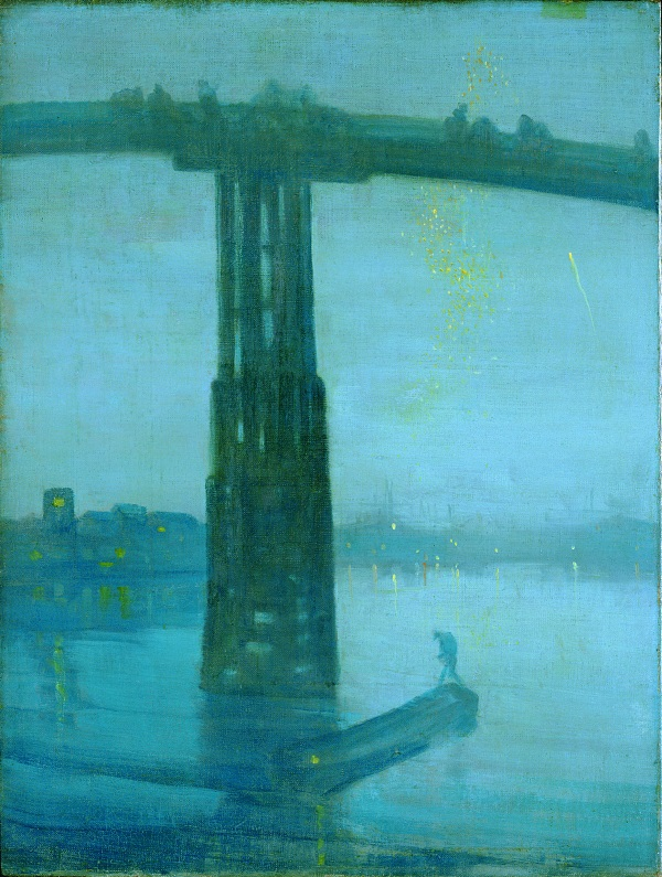James McNeill Whistler, Blue and Gold: Old Battersea Bridge, 1872-75.