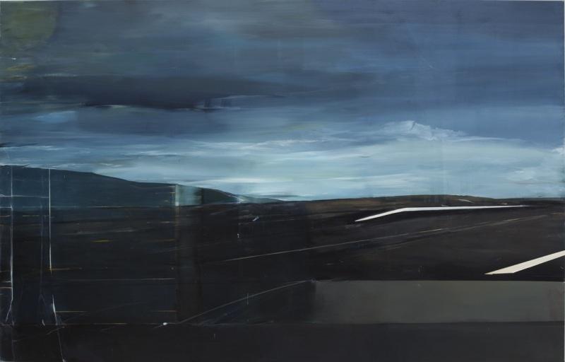 Carla Klein, Untitled, 2013-14.  74 7/8 x 118 1/8 inches