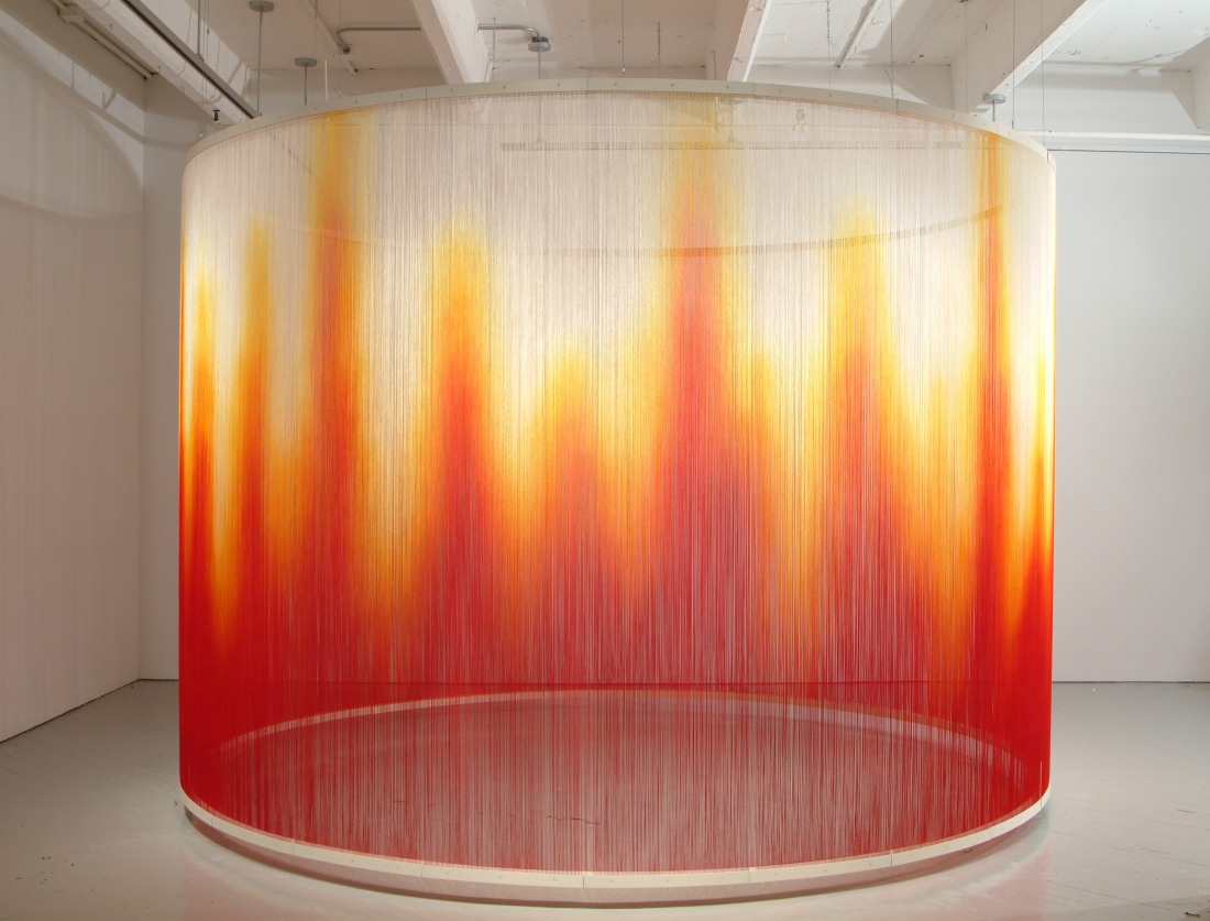 Teresita Fernández, Fire, 2005. Collection of the San Francisco Museum of Modern Art.
