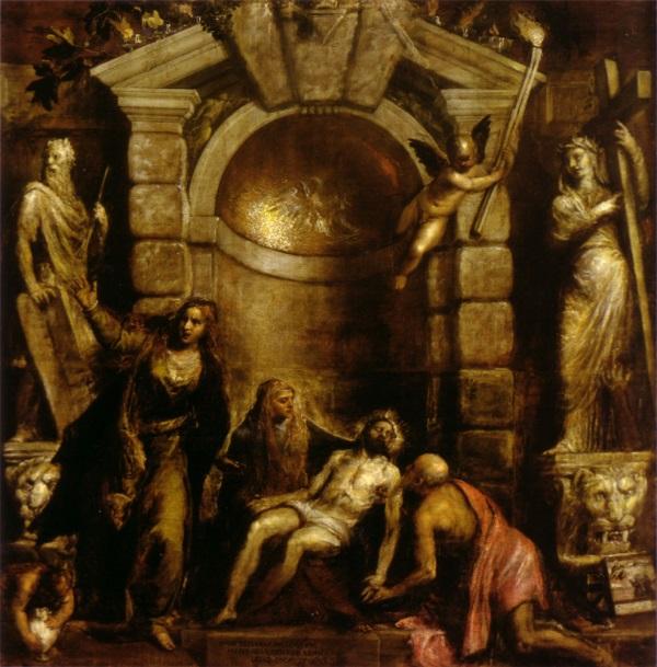 Titian, Pieta, ca. 1570-76.