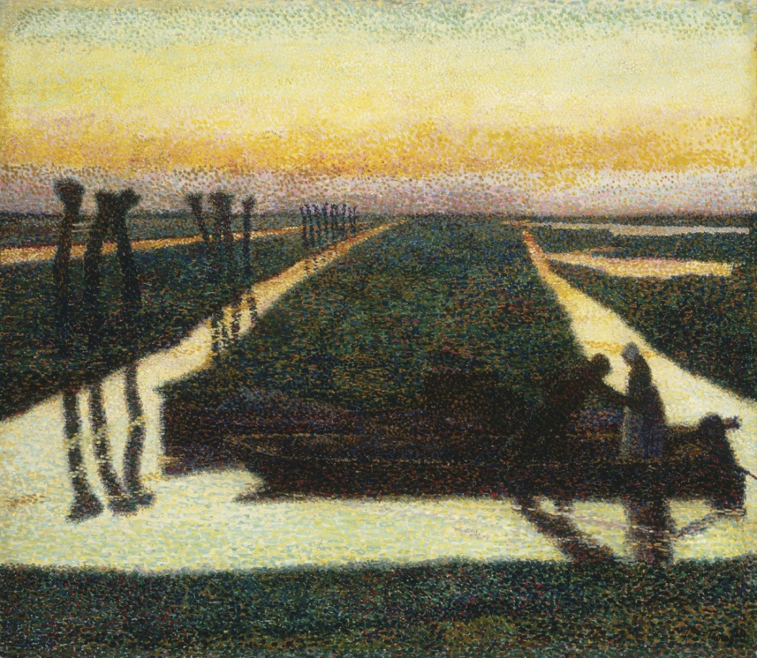 Jan Toorop, Broek in Waterland, 1889.