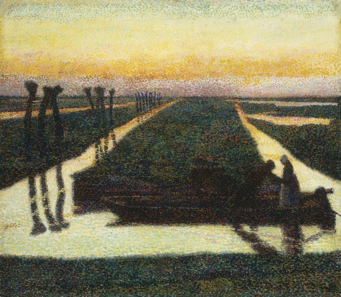Jan Toorop, Broek in Waterland, 1889.