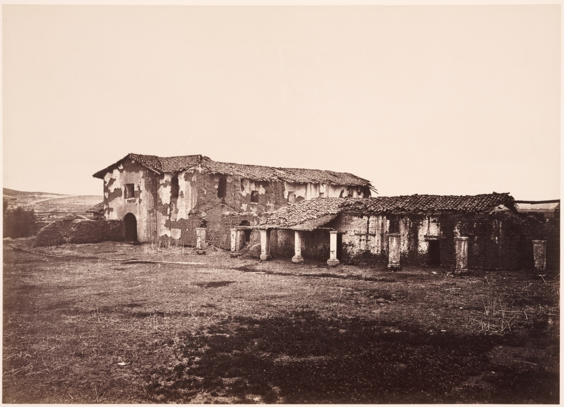 Carleton Watkins, Mission San Fernando Rey de Espana, ca. 1877. Collection of the Huntington Library, Art Collections and Botanical Gardens, San Marino.
