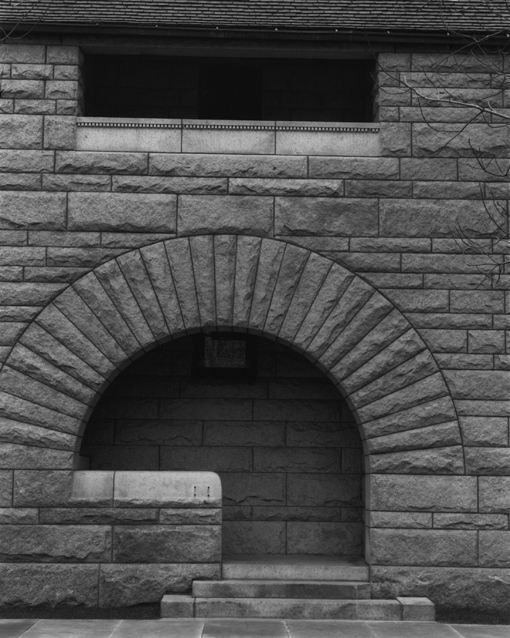 James Welling, Service Entrance, Glessner House, 1885-87, Chicago, IL, 1988.