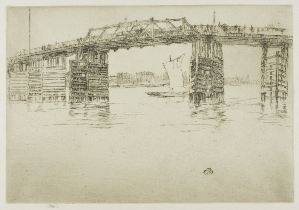 James McNeill Whistler, Old Battersea Bridge, 1879.