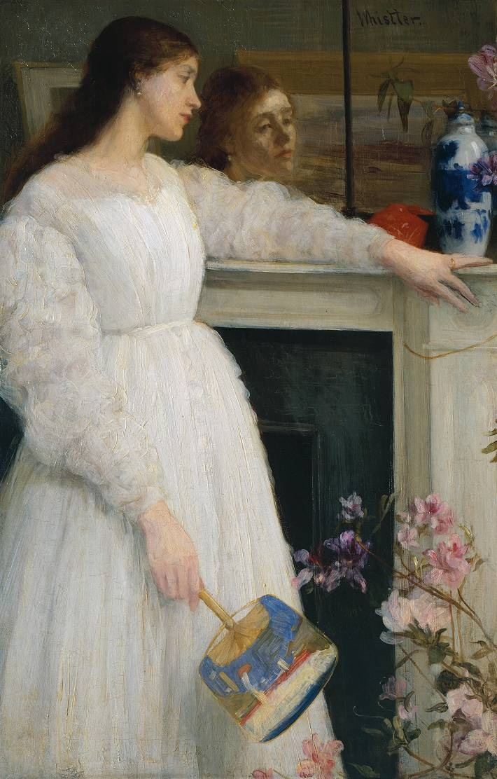 James McNeill Whistler,  Symphony in White No. 2: The Little White Girl,  1864.