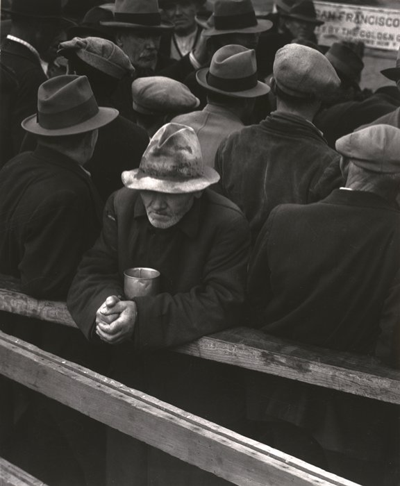Dorothea Lange, White Angel Breadline, 1933.