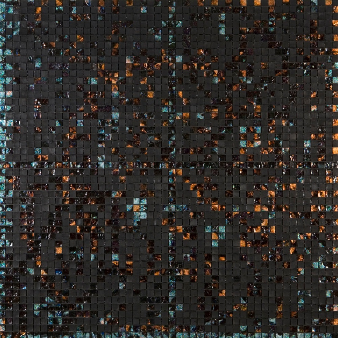 Jack Whitten, E Stamp II (The Black Butterfly: For Bobby Short), 2007.