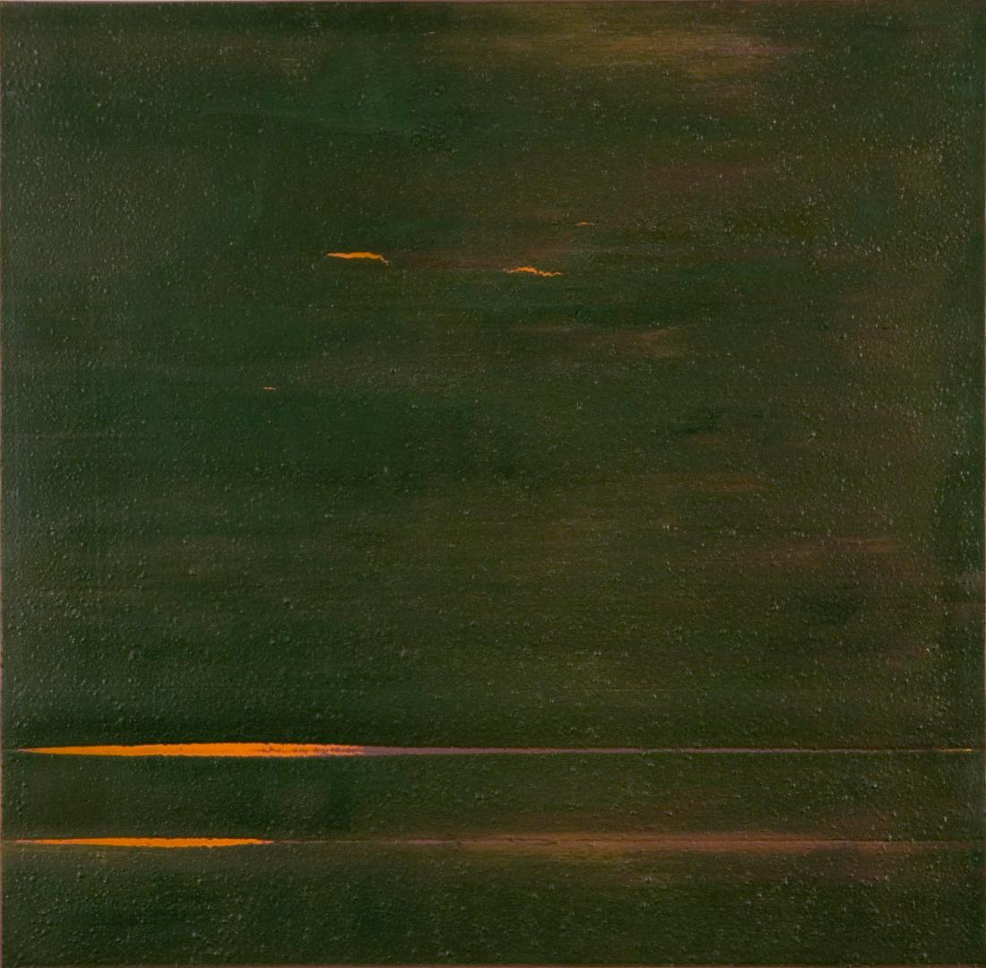 Jack Whitten, Fourth Testing (Slab), 1972.
