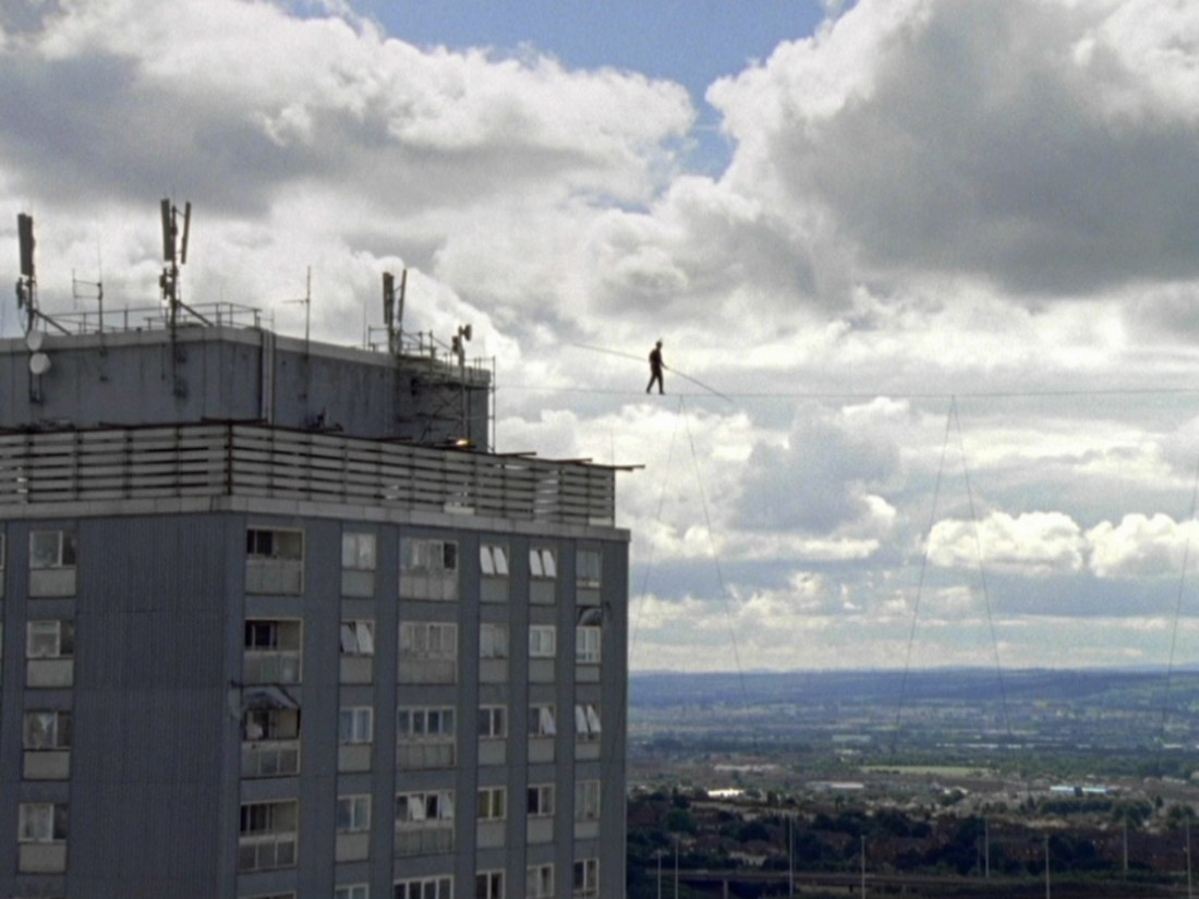 Catherine Yass, High Wire (still), 2008.