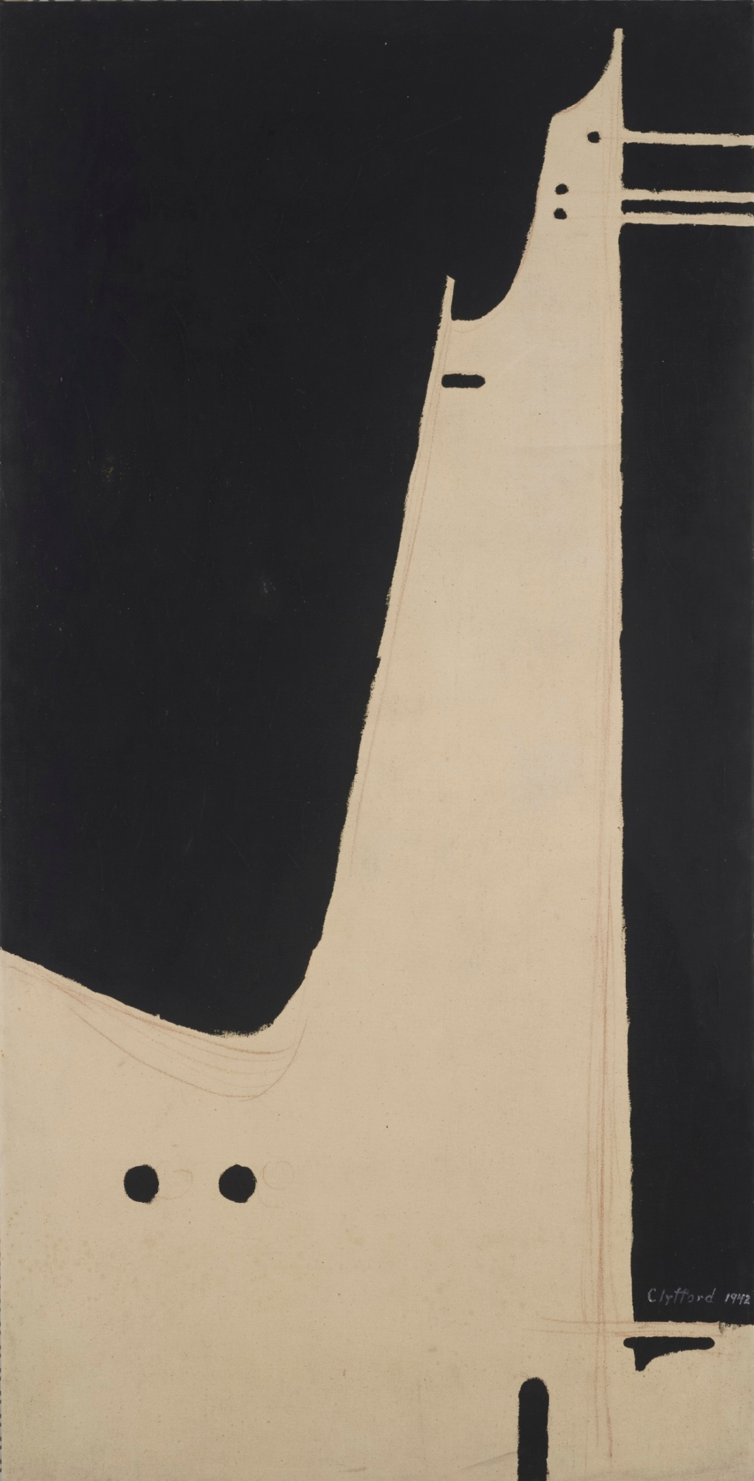 Clyfford Still, PH-334, 1942.