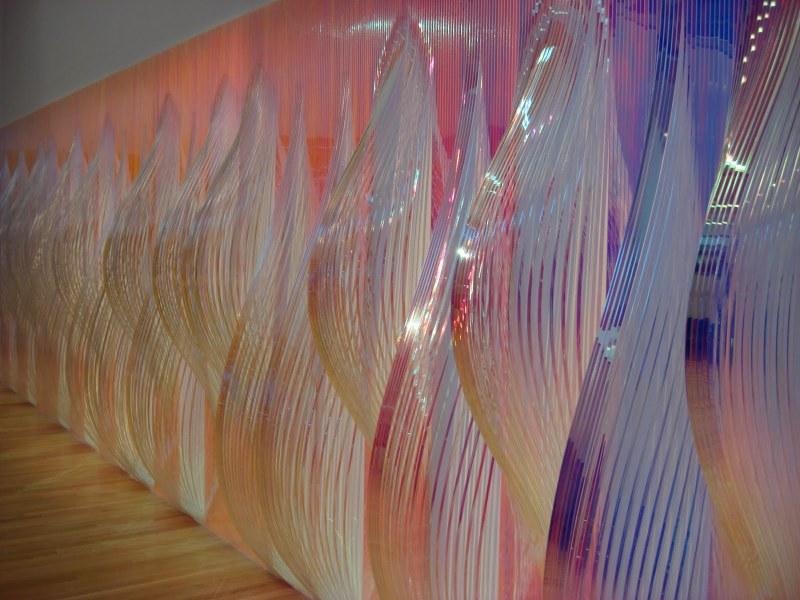Alyson Shotz, Standing Wave, 2010.