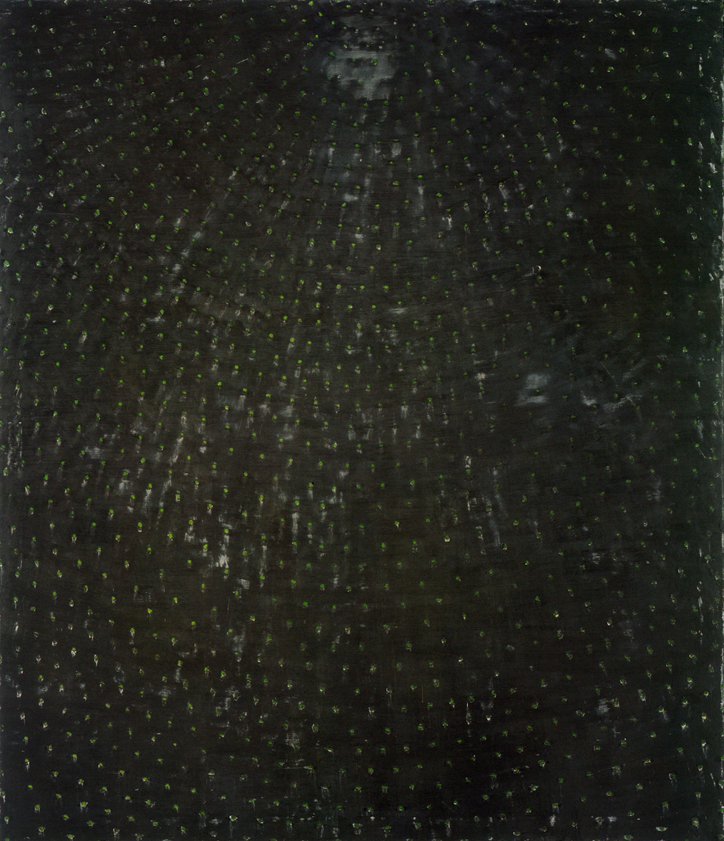 Ross Bleckner, Architecture of the Sky V, 1989.