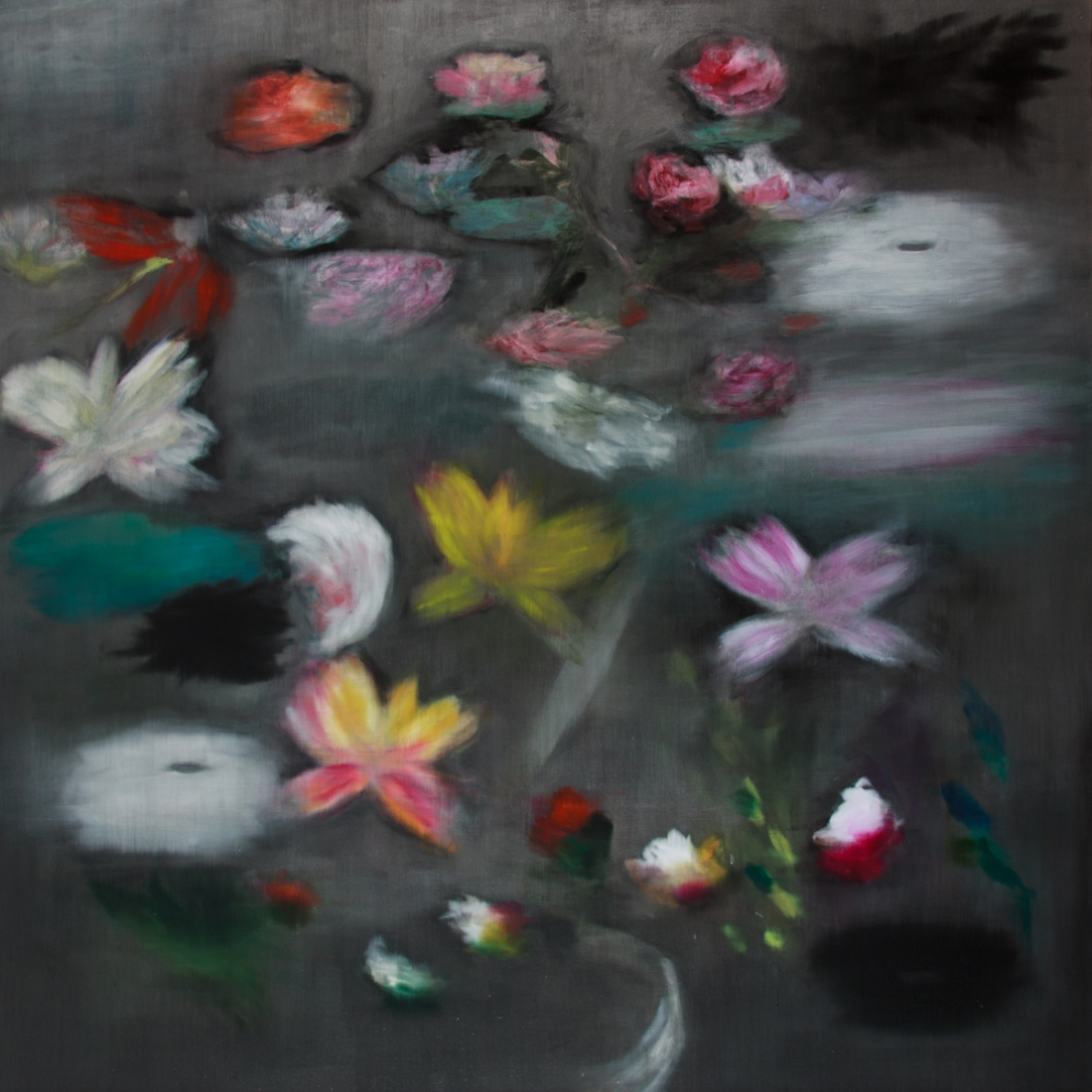 Ross Bleckner, Handful After Handful, 2009.