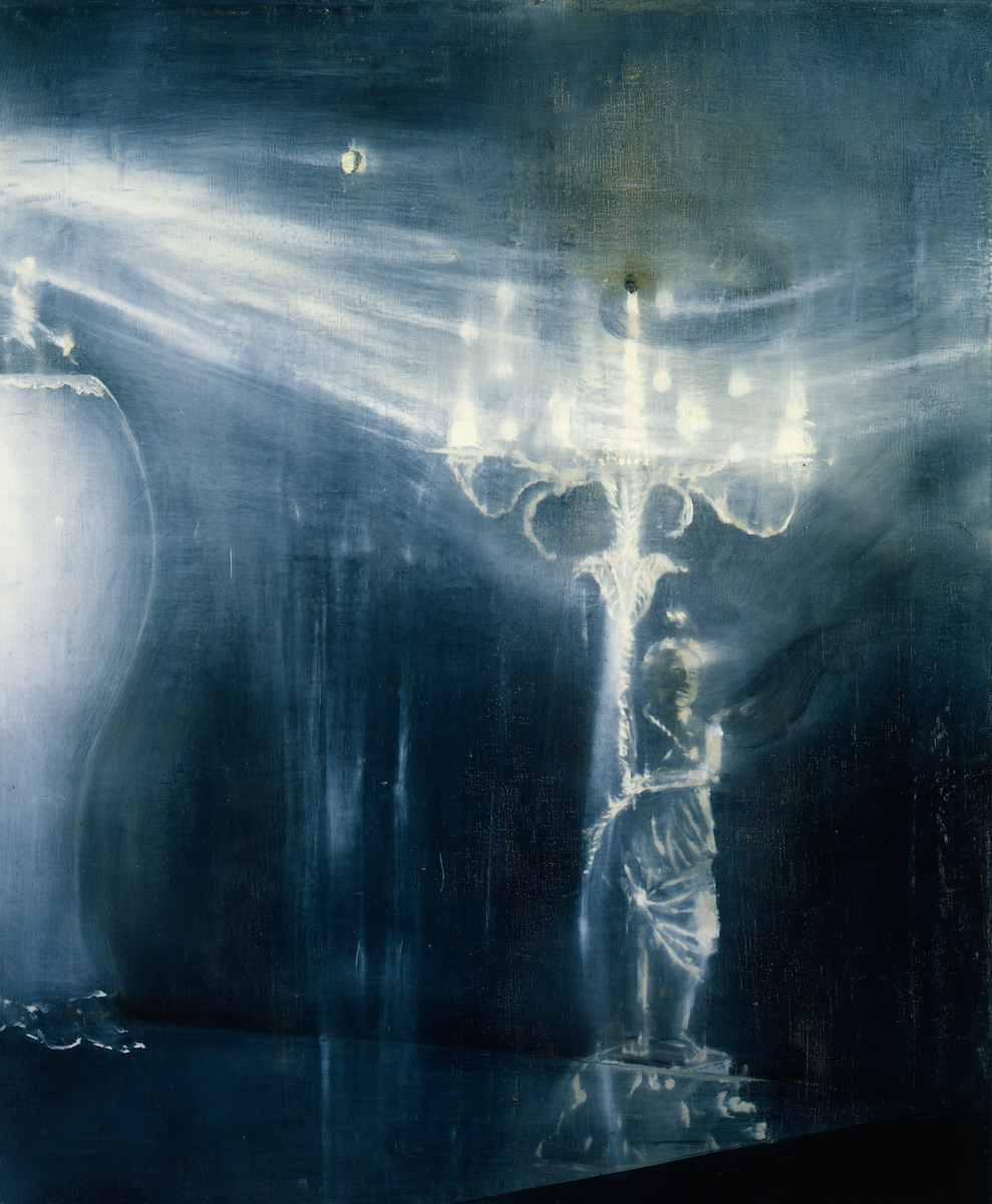 Ross Bleckner, Outstanding European, 1989.