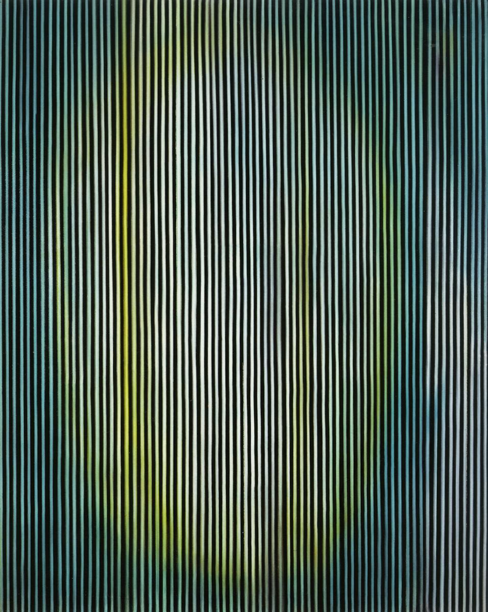 Ross Bleckner, The Forest, 1981.