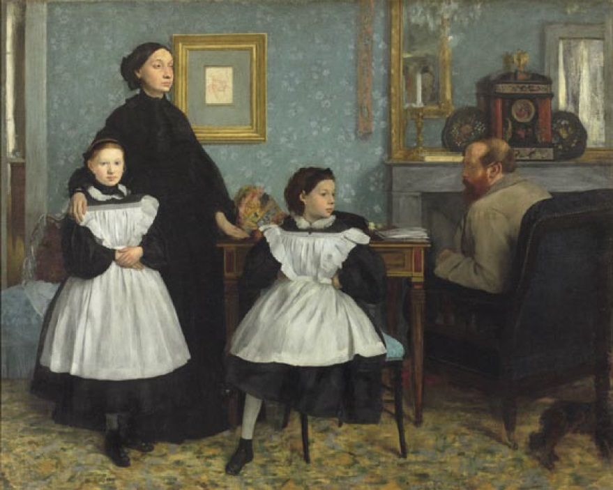 Edgar Degas, Family Portrait, 1858-60.