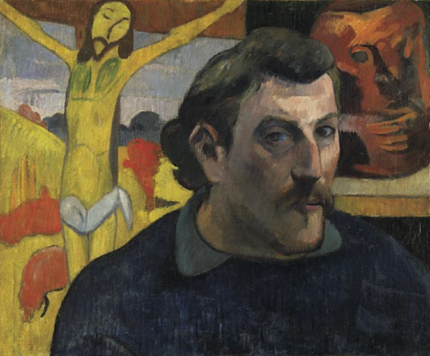 Paul Gauguin, Self Portrait with the Yellow Christ, 1889-90.