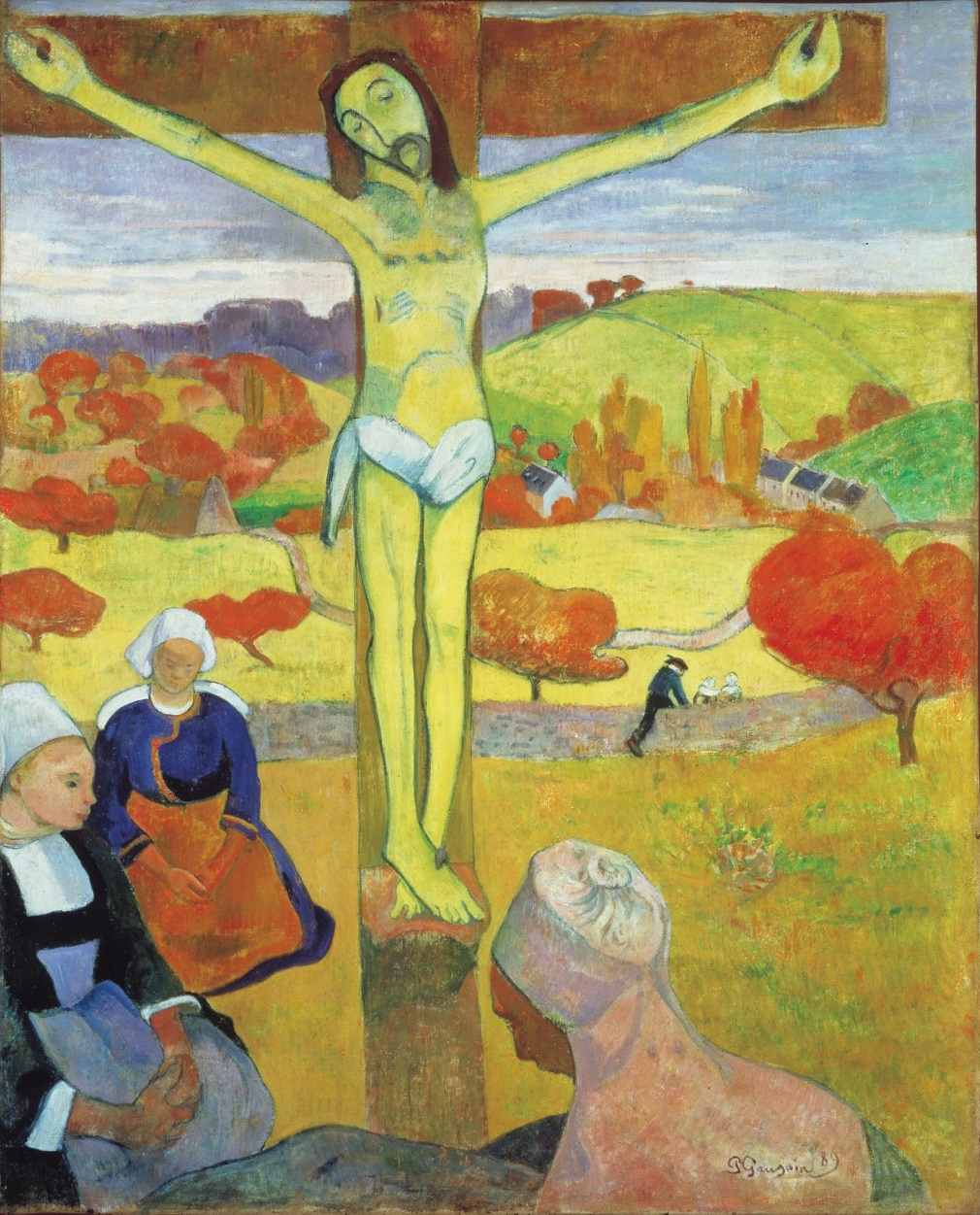 Paul Gauguin, The Yellow Christ, 1889. Collection of the Albright-Knox Art Gallery, Buffalo.