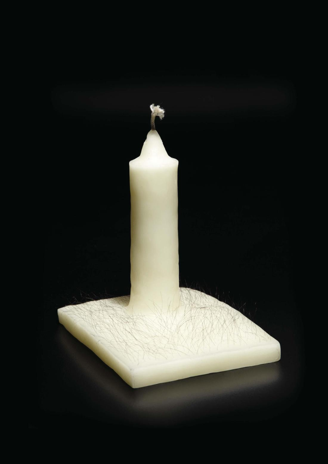 Robert Gober, Untitled (Candle), 1991.