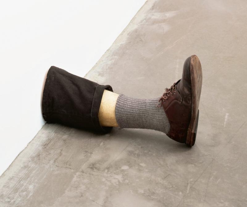Robert Gober, Untitled Leg, 1989-90.