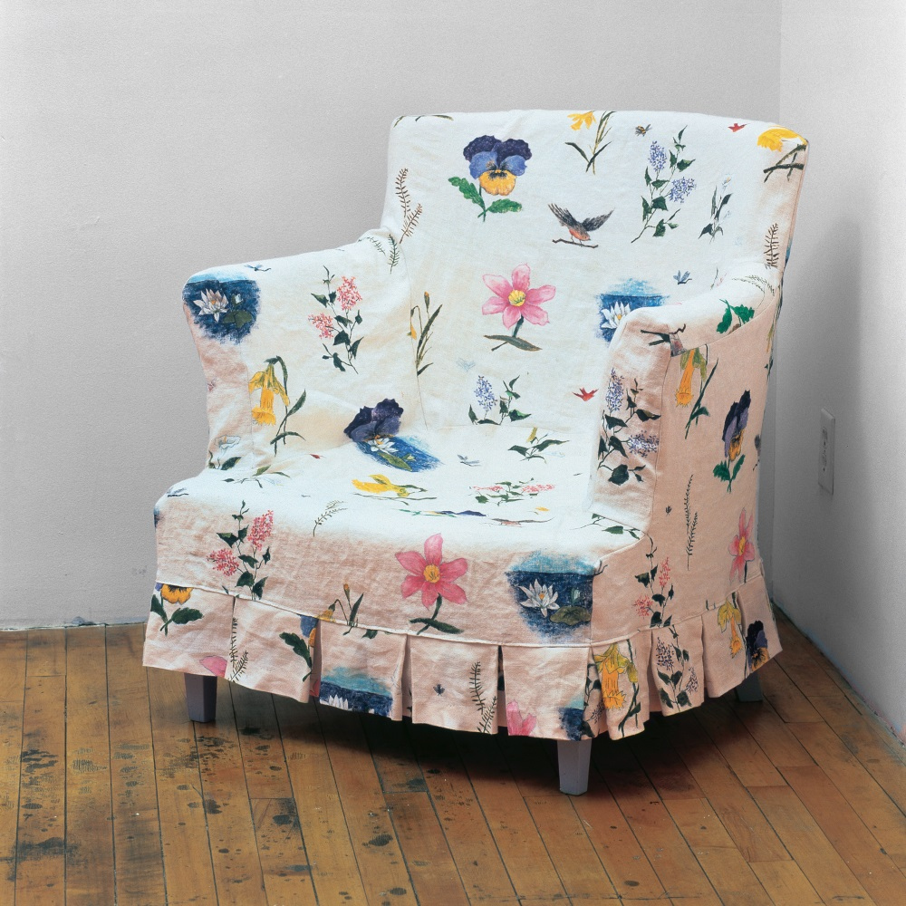 Robert Gober, Slip-Covered Armchair, 1986-87.