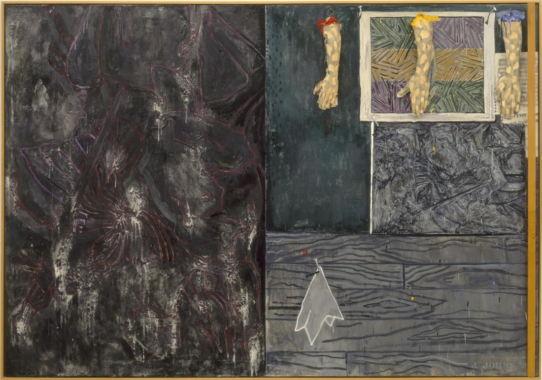 Jasper Johns, Perilous Night, 1982.