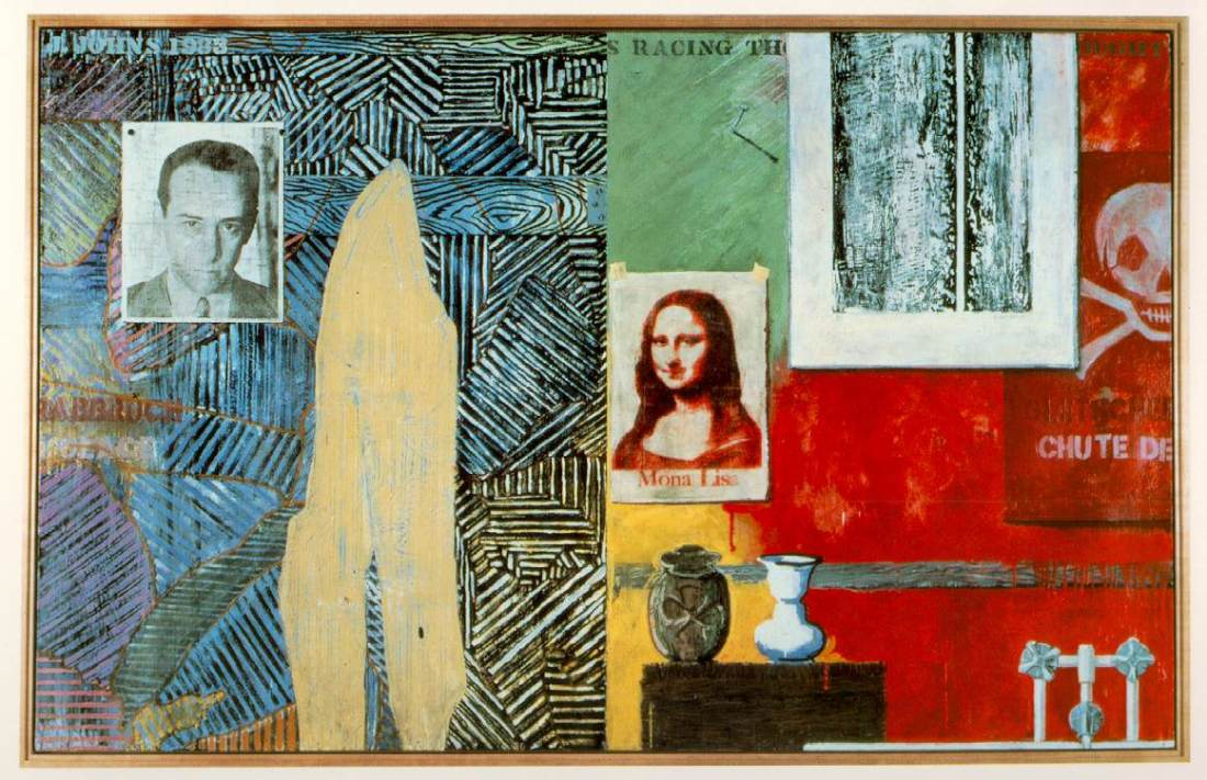 Jasper Johns, Racing Thoughts, 1983.