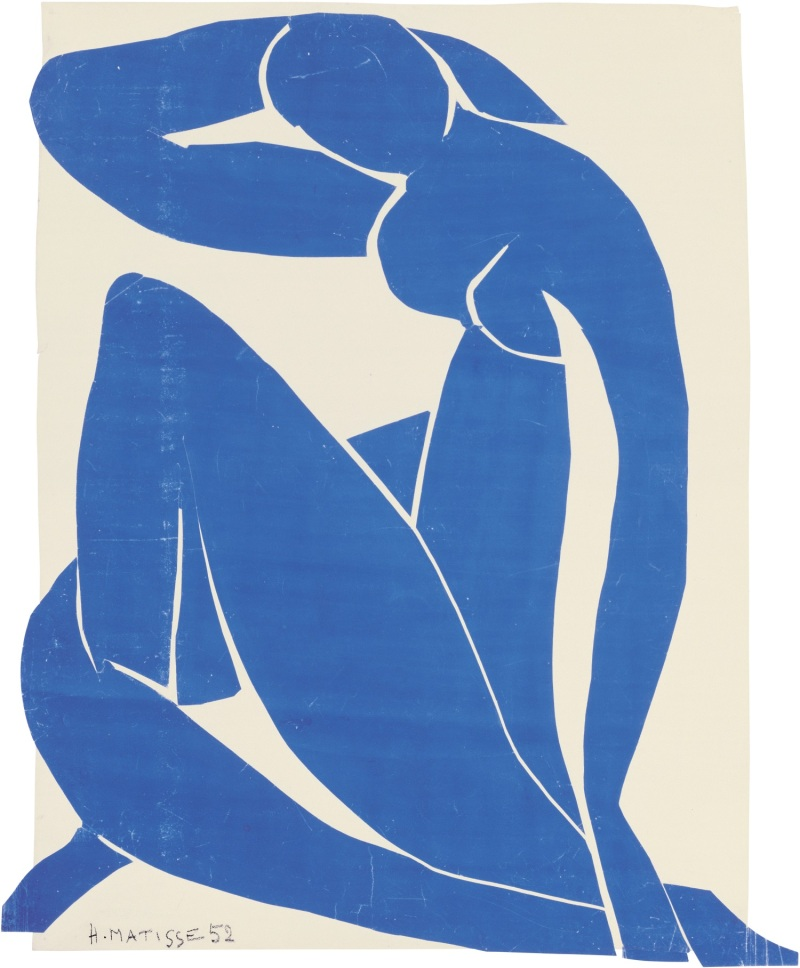 Henri Matisse, Blue Nude II, 1952.