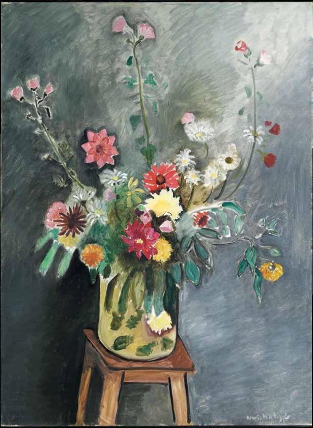 Henri Matisse, Bouquet, 1916-17.