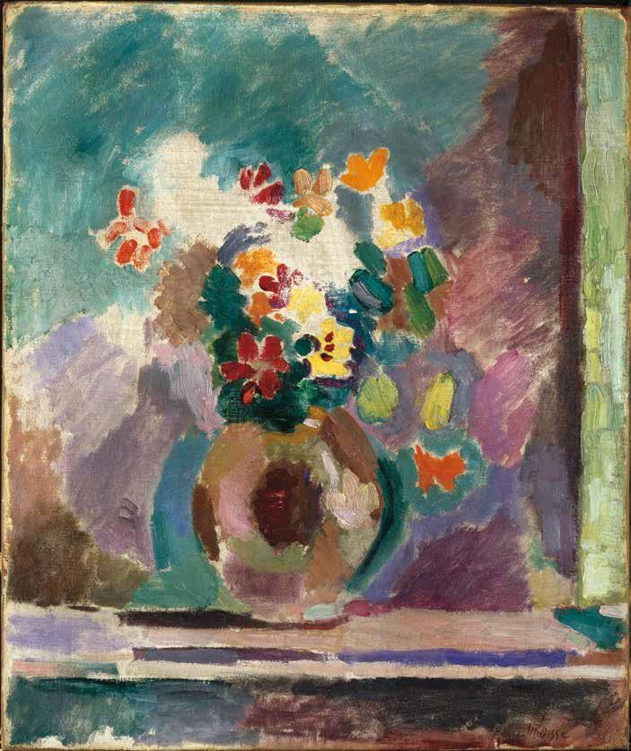 Henri Matisse, Flowers, 1906.