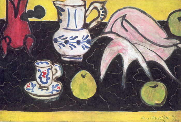 Henri Matisse, Still Life with Shell, 1940.