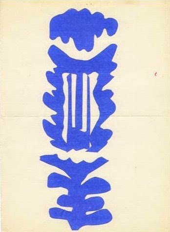 Henri Matisse, The Lyre, 1946.