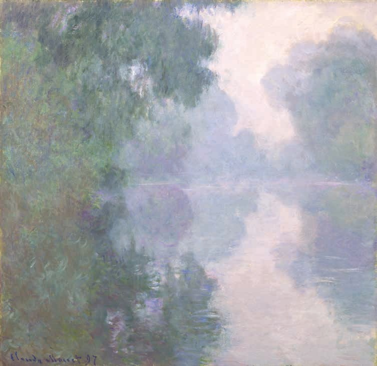 Claude Monet, The Seine at Giverny, Morning Mists, 1897.