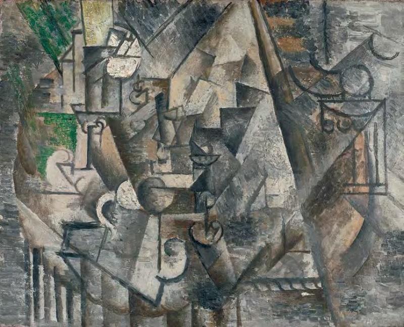 Pablo Picasso, Chess, 1911.