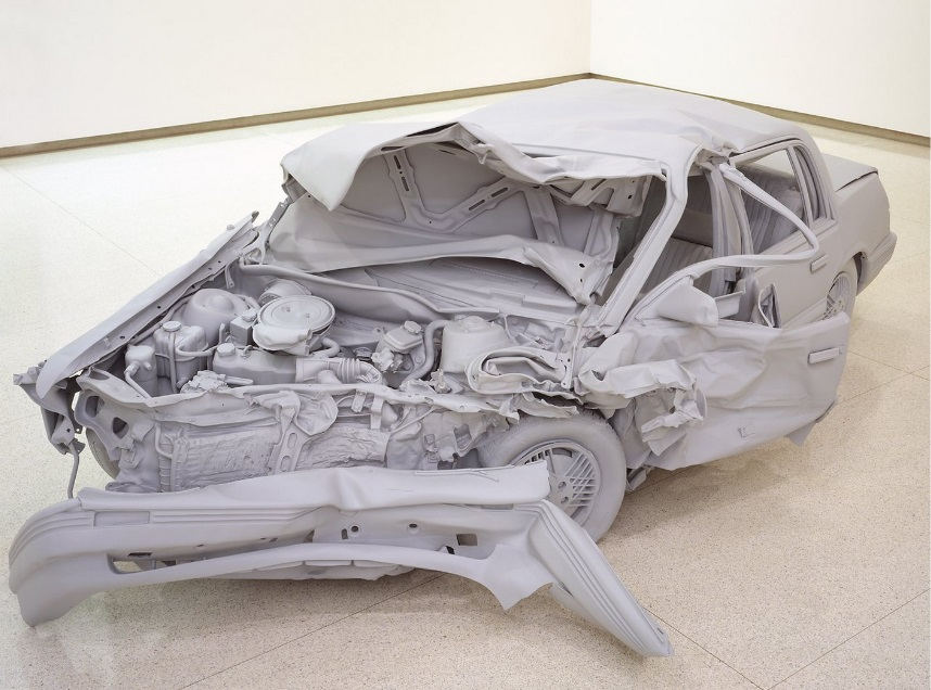 Charles Ray, Unpainted Sculpture, 1997. Collection of the Walker Art Center, Minneapolis.