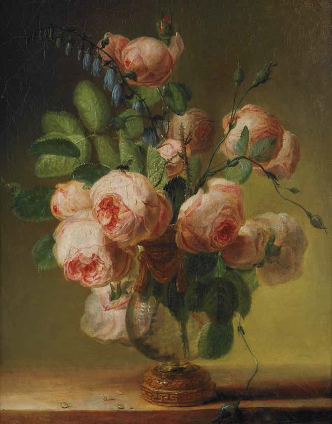 Pierre-Joseph Redoute, Vase of Flowers, 1799.