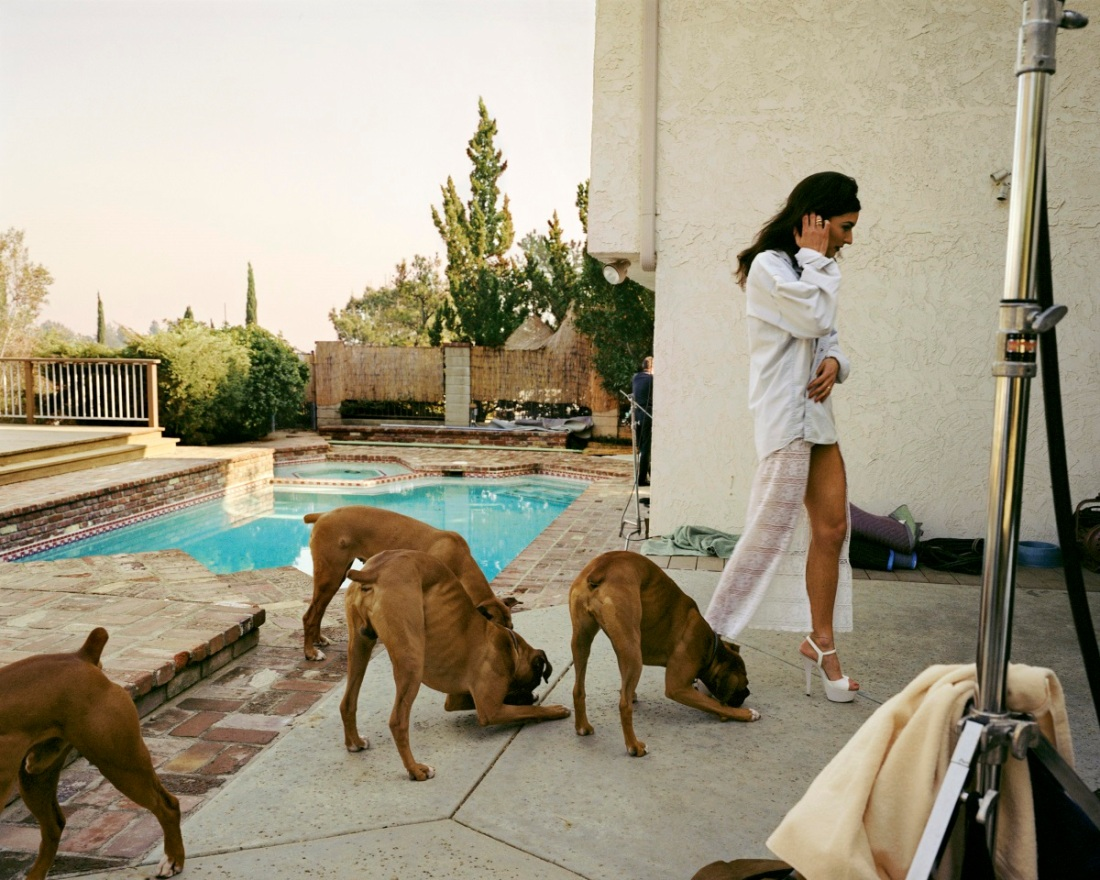 Larry Sultan, Boxers, Mission Hill, 1999.