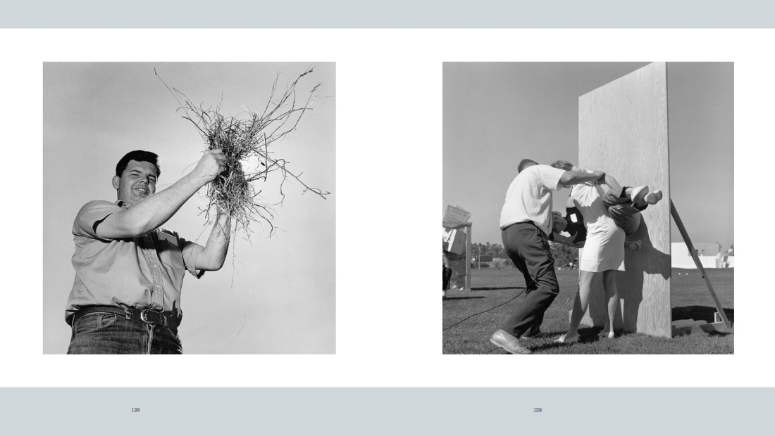 "Larry Sultan and Mike Mandel, sample from ""Evidence,"" 1975-77 as presented in the catalogue for the exhibition."