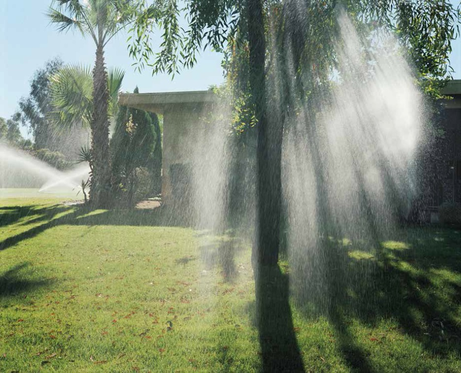 Larry Sultan, Sprinklers, 1991.