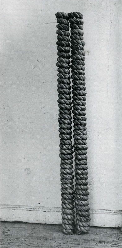 Jackie Winsor, Double Column, 1970.
